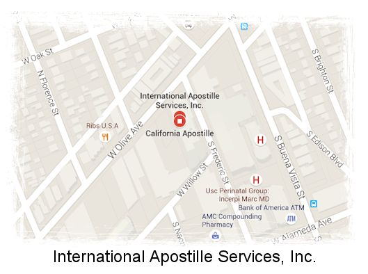 California Apostille Services in Los Angeles